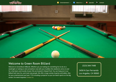 Green Room Billiard