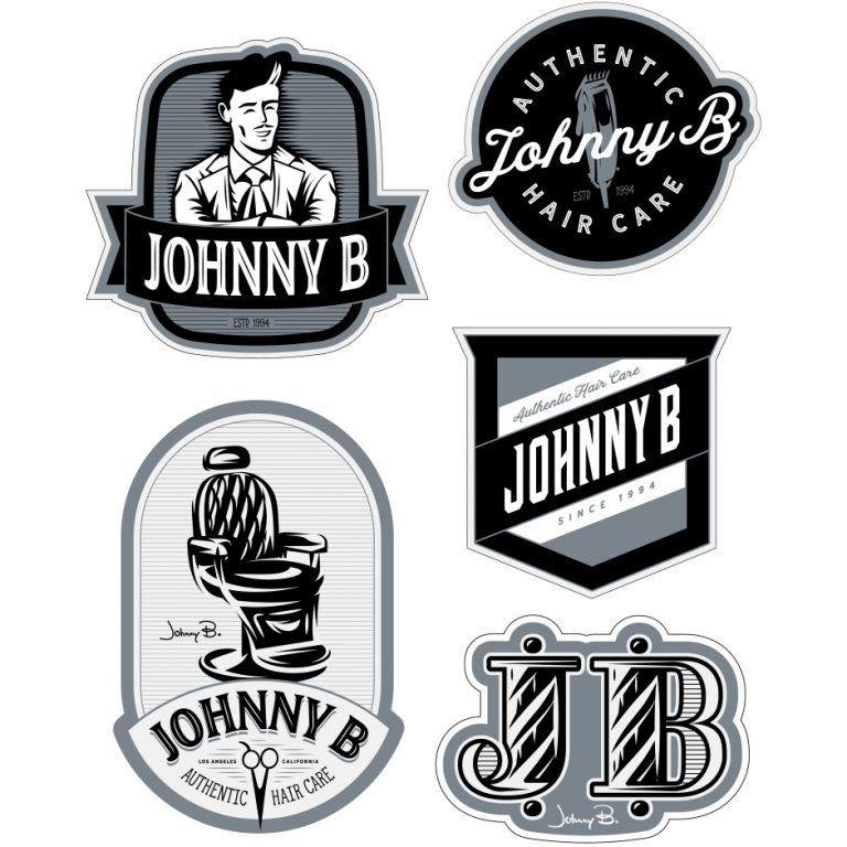Barber Collection Stickers